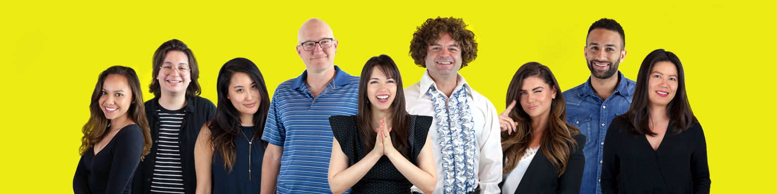 Photo of the SoFab team